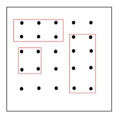 * Geobord voorbeeld 3-9. Diy And Crafts, Playing Cards, Dots, Study, Activities, Writing, Words, Languages, Studio