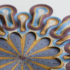 New Rolled Paper Tapestry Sculptures by Gunjan Aylawadi