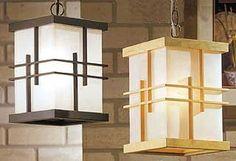 Wooden Lanterns, Wooden Lamp, Hanging Lanterns, Paper Lanterns, Wood Chair Design, Lamp Design, Sala Tatami, Tatami Room, Large Floor Lamp