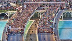 salida maraton en Valencia