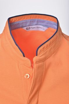 Mandarin Collar T-Shirt – Men's style, accessories, mens fashion trends 2020 Mens Stylish T Shirts, Mens Polo T Shirts, Stylish Mens Fashion, Casual Shirts, Banded Collar Shirts, Business Casual Outfits, Trendy Outfits, Mandarin Collar, Toxic Vision