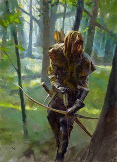Muddy Colors: Robin Hood- Greg Manchess