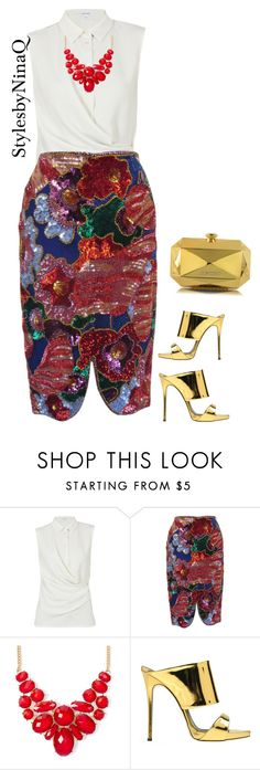 """""""Untitled #681"""" by nina-quaranta ❤ liked on Polyvore featuring Carven, Tom Ford, Giuseppe Zanotti and Moschino"""