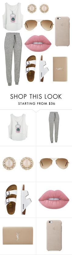 """""""Untitled #194"""" by chaniyanesbitt ❤ liked on Polyvore featuring Icebreaker, Kate Spade, Ray-Ban, TravelSmith, Lime Crime and Yves Saint Laurent"""