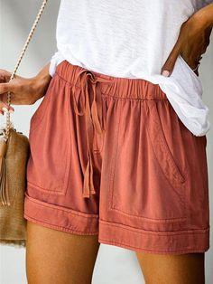 women shorts short for women short shorts for women womens cargo shorts cargo shorts for women high waist shorts Loose Shorts, High Waisted Shorts, Casual Shorts, Pleated Shorts, Cargo Shorts Women, Shorts With Pockets, Pocket Shorts, Cotton Style, Streetwear Fashion