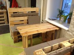 pallet furniture cafe bar - Поиск в Google