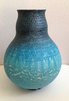 Bagni Wheel Thrown Vase for Raymor