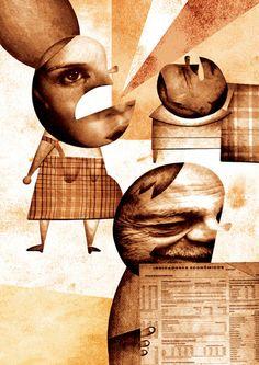 Daniel Bueno collage