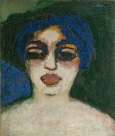 Kees van Dongen (1877-1968) was een in Nederland geboren kunstschilder, die een groot deel van zijn leven in Frankrijk heeft gewoond. Met zijn werk was hij een van de belangrijkste Nederlandse vertegenwoordigers van het fauvisme. Van Dongen was ook korte tijd lid van de Duitse expressionistische groep Die Brücke.- (1909)