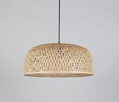 Mayuree: Bamboo Wicker Rattan Pendant Light Fixture - All For Decoration Bedroom Light Fixtures, Pendant Light Fixtures, Light Fittings, Pendant Lighting, Rattan Light Fixture, Pendant Lamps, Bedroom Light Shades, Dining Light Fixtures, Bamboo Pendant Light