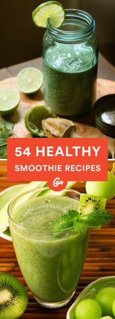 From pre- and post-workout to breakfast and dessert—we've got a smoothie recipe for every taste. #healthy #smoothie #recipes http://greatist.com/health/healthy-smoothie-recipes