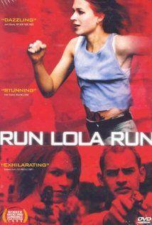 RUN LOLA RUN.  Director: Tom Tykwer.  Year: 1999.  Cast: Franka Potente, Moritz Bleibtreu and Herbert Knaup