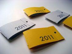 lovely pocket calendars