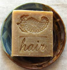 Henna Shampoo Bar with Jojoba  Unscented Shampoo by AquarianBath, $6.50