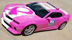 breast cancer pace car | Pink Camaro to Pace AdvoCare 500 for Awareness and Fundraising - LSXTV