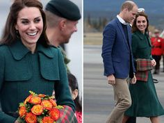 THE Duke and Duchess of Cambridge got a taste of the frontier spirit when they flew to the former gold rush town of Whitehorse in northern Canada today.