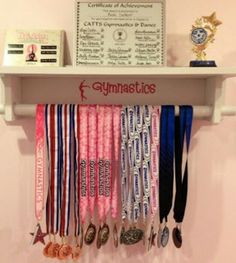 A place to store your trophies, medals, tiaras, ribbons, and sashes!