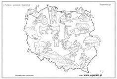 kolorowanka orzeł godło - Szukaj w Google Krakow, Kids Hats, Diagram, Map, Education, World, Google, Poland, Camper