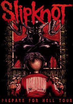 Slipknot Merchandise Graphic by joey james hernandez on CreativeAllies.com