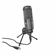 PLE Computers Audio Technica AT2020-USB+ Desktop Microphone Headphones & Microphones AT2020-USB+ Audio Technica