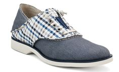 Sperry Top-sider Oxford Saddle Shoe with gingham! -$100