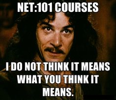 """""""I do not think it means what you think it means."""" ~Inigo Montoya, The Princess Bride Classroom Humor, Funny Quotes, Funny Memes, Movie Quotes, Meme Meme, That's Hilarious, Movie Memes, Humorous Sayings, Smart Sayings"""