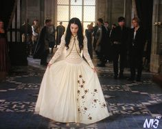 Biggest reason I watch these show are DRESSES Adelaide Kane as Mary Queen of Scots~ Reign