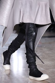 Rick Owens A/W '14  The shoes