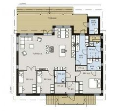 Future House, Beach House, House Plans, Floor Plans, Cottage, Exterior, House Design, Flooring, How To Plan
