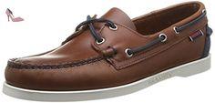 Sebago Spinnaker, Chaussures bateau Homme  Marron (Cognac/Navy) 46 EU - Chaussures sebago (*Partner-Link)