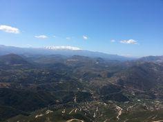 the magestic Psiloritis mountain, Vasiliko