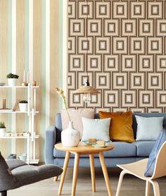 Stripes+ 377031 & 377023. #wallpaper #wallpapernz #aspiringwalls