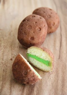 st paddy day treat....potato petit fours