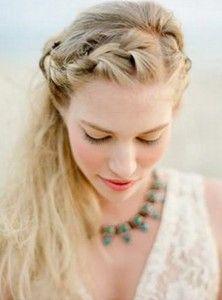 Greek Braided Hairstyle