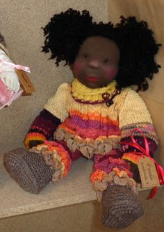 Sue 18 Waldorf Inspired Doll by irinamichelle on Etsy, €220.00