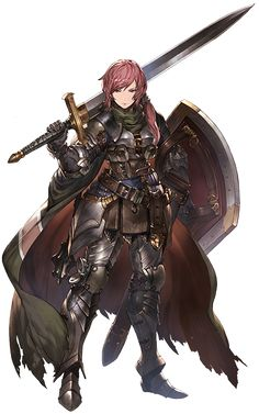 RPG Female Knight