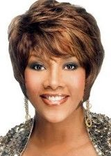 Exquisite Short Wavy Human Hair Full Lace Wig