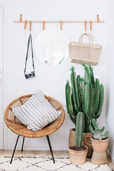 https://annelibarcelona.blogspot.nl/2017/05/diy-eye-catcher-vagghang.html #greenery #cactus #indoorplants #boho