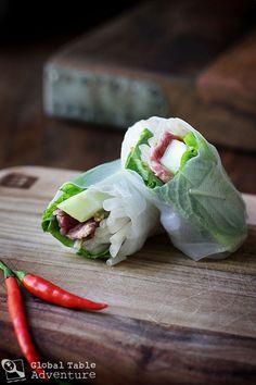 DIY Spring Rolls | Bò nhúng dấm (Vietnam)
