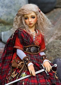 brave scottish scots barbie