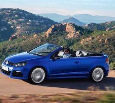 The all new VW Golf TSI RLine Cabrio 2015