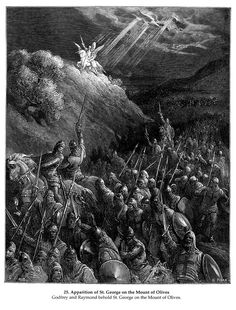 Apparition of St. George on the Mount of Olives_GustaveDore_sqs__crusades_george_mt_olives__xyz32728.gif - Gustave Dore