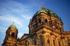 The neo-baroque Berliner Dom, Germany  The neo-baroque Berliner Dom (Berlin Cathedral) 1905, has been restored to its pre-WWII splendour