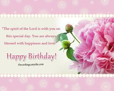 Christian birthday wishes christian birthdays and express gratitude