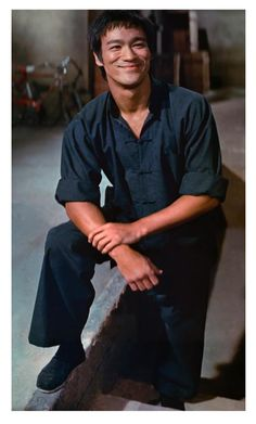 Bruce Lee. . .look at that smile :)