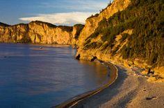 Cap-Bon-Ami, Cliffside, Felsige Ufer, Forillon National Park (76,0 x 50,0 cm)