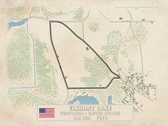 Elkhart Lake 1950 Elkhart Lake, Vintage World Maps, Track, Racing, Antique Cars, Running, Runway, Auto Racing, Truck