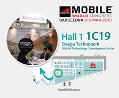 Let's meet at MWC 2015! #freedywireless #mwc2015 #wirelesscharging