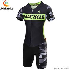 0d0d3362e Woman MTB Bike Bicycle Riding Outdoor Sport Skinsuit Triathlon Clothing  Cycling Summer Short Sleeve Quick Dry Jerseys-in Cycling Sets from Sports  ...