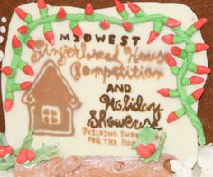 Aurora's Midwest Gingerbread House Competition is now accepting competitors! Great prizes and help a great cause. Compete for free....